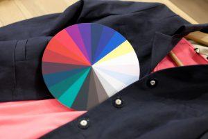 Kleurenwiel voor kleuradvies bij ondernemers